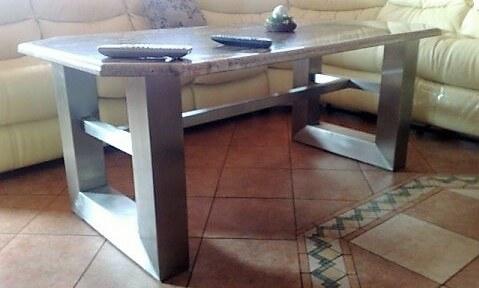 stół ława ze stali nierdzewnej